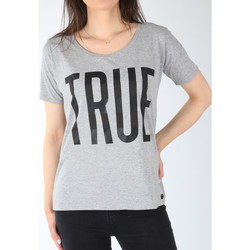 vaatteet Naiset Lyhythihainen t-paita Lee T-shirt  Ultimate Tee L42JEP37 grey
