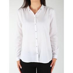 vaatteet Naiset Paitapusero / Kauluspaita Wrangler L/S Relaxed Shirt W5190BD12 white