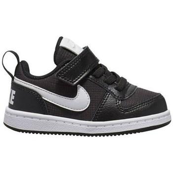 kengät Lapset Matalavartiset tennarit Nike Court Borough Low PE Mustat