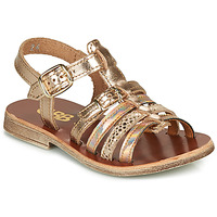 kengät Tytöt Sandaalit ja avokkaat GBB BANGKOK Pink / Kulta