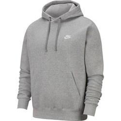 vaatteet Miehet Svetari Nike Club Hoodie PO Harmaat