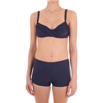 vaatteet Naiset kaksiosainen uimapuku Joséphine Martin ASIA Blu