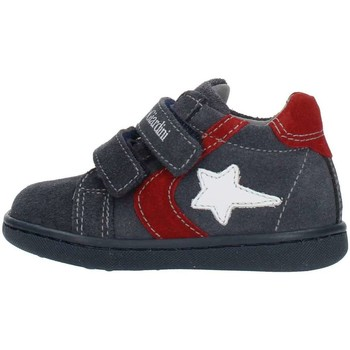 kengät Lapset Korkeavartiset tennarit NeroGiardini A919000M Blue