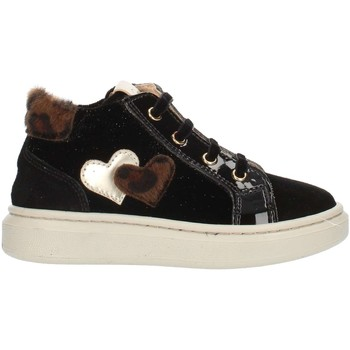 kengät Lapset Korkeavartiset tennarit Nero Giardini A921212F Black