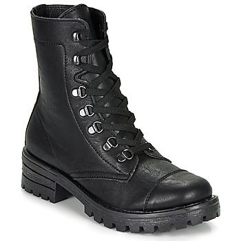 kengät Naiset Bootsit André NIVA Musta