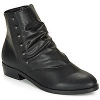 kengät Naiset Bootsit André ELIPSE Black
