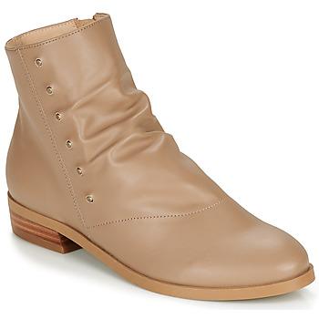kengät Naiset Bootsit André ELIPSE Camel