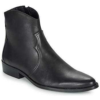 kengät Miehet Bootsit André WESTERN Musta