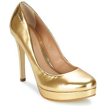 kengät Naiset Korkokengät Dumond MIRROURO Gold