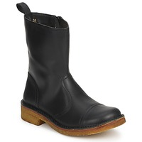 kengät Naiset Bootsit Swedish hasbeens DANISH BOOT Black