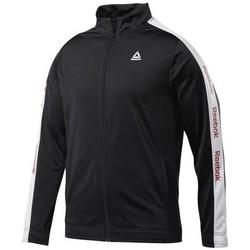 vaatteet Miehet Svetari Reebok Sport Training Essentials Linear Logo Mustat