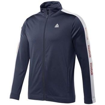vaatteet Miehet Svetari Reebok Sport Training Essentials Linear Logo Track Tummansininen
