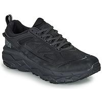 kengät Miehet Juoksukengät / Trail-kengät Hoka one one CHALLENGER LOW GTX Black
