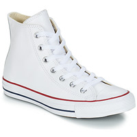 kengät Korkeavartiset tennarit Converse Chuck Taylor All Star CORE LEATHER HI White