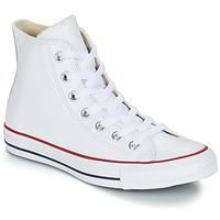 kengät Korkeavartiset tennarit Converse Chuck Taylor All Star CORE LEATHER HI Valkoinen