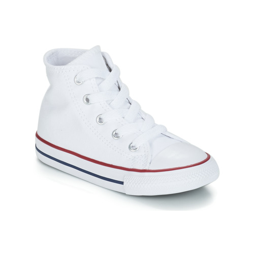 kengät Lapset Korkeavartiset tennarit Converse CHUCK TAYLOR ALL STAR CORE HI White