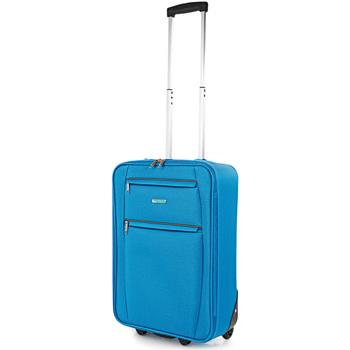 laukut Pehmeät matkalaukut Itaca Kävi koulua Cassley Siniset farkut