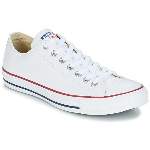kengät Matalavartiset tennarit Converse Chuck Taylor All Star CORE LEATHER OX White