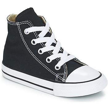 kengät Lapset Korkeavartiset tennarit Converse CHUCK TAYLOR ALL STAR CORE HI Black