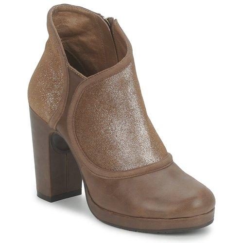 kengät Naiset Nilkkurit Esska TILLY Brown / Paljetti