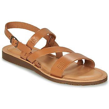 kengät Naiset Sandaalit ja avokkaat TBS BEATTYS Cognac