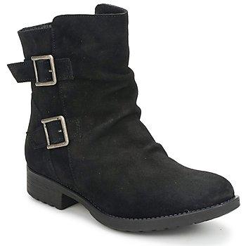 kengät Naiset Bootsit Casual Attitude RIJONES Black