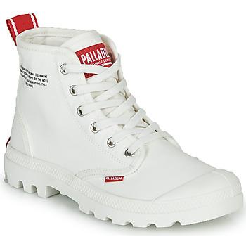 kengät Bootsit Palladium PAMPA HI DU C White
