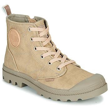 kengät Naiset Bootsit Palladium PAMPA HI DESERT Beige