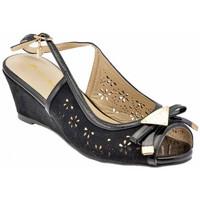kengät Naiset Sandaalit ja avokkaat Laura Biagiotti  Musta