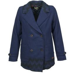 vaatteet Naiset Paksu takki Roxy MOONLIGHT JACKET Laivastonsininen / Black