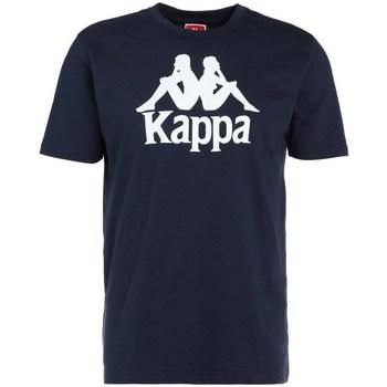 vaatteet Miehet Lyhythihainen t-paita Kappa Caspar Tshirt Tummansininen
