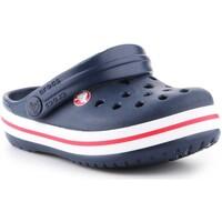kengät Lapset Puukengät Crocs Crocband clog 204537-485 navy