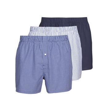 Alusvaatteet Miehet Bokserit Lacoste 7H3394-8X0 White / Blue