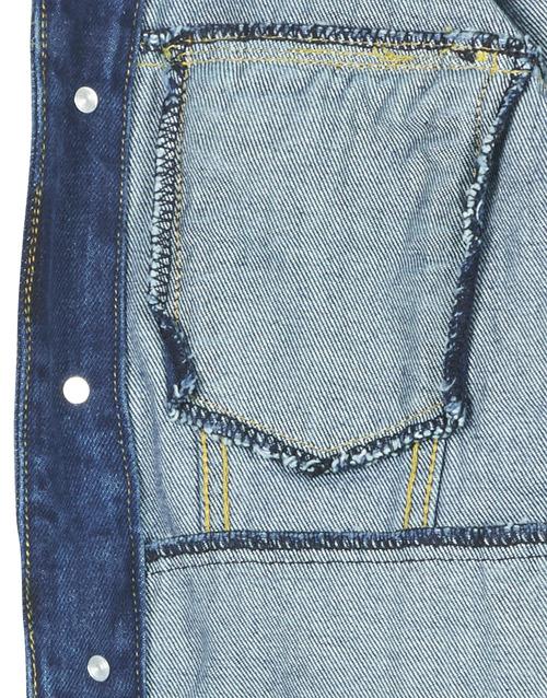 Moony Mood Lotito Blue - Ilmainen Toimitus- Vaatteet Farkkutakki Naiset 39