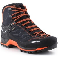 kengät Miehet Vaelluskengät Salewa Ms Mtn Trainer Mid Gtx 63458-0985 black, orange