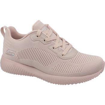 kengät Naiset Matalavartiset tennarit Skechers Bobs Squad 32504-PNK