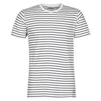 vaatteet Miehet Lyhythihainen t-paita Casual Attitude KINO Laivastonsininen / White