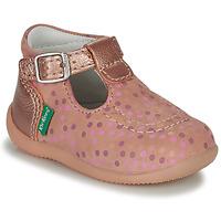 kengät Tytöt Sandaalit ja avokkaat Kickers BONBEK-3 Pink / Polka dot