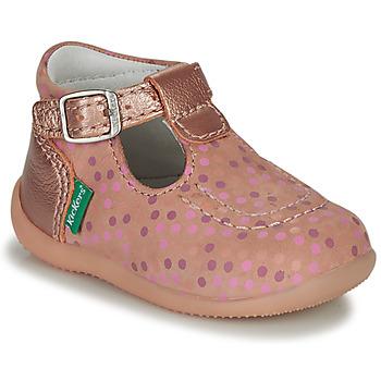 kengät Tytöt Sandaalit ja avokkaat Kickers BONBEK-3 Vaaleanpunainen / Polka dot
