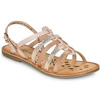 kengät Tytöt Sandaalit ja avokkaat Kickers DIXON Vaaleanpunainen