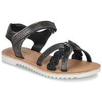 kengät Tytöt Sandaalit ja avokkaat Kickers SHARKKY Black
