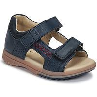 kengät Pojat Sandaalit ja avokkaat Kickers PLAZABI Laivastonsininen