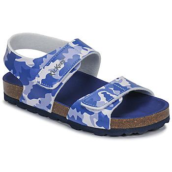 kengät Pojat Sandaalit ja avokkaat Kickers SUMMERKRO Sininen