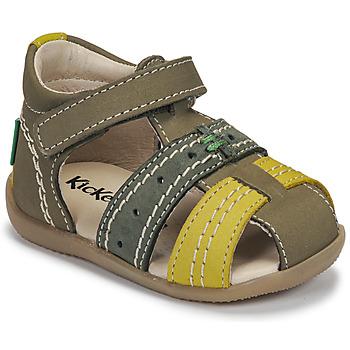 kengät Lapset Sandaalit ja avokkaat Kickers BIGBAZAR-3 Vihreä