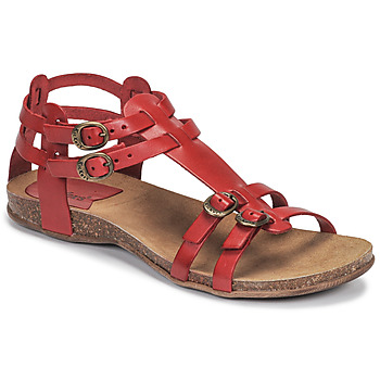 kengät Naiset Sandaalit ja avokkaat Kickers ANA Punainen