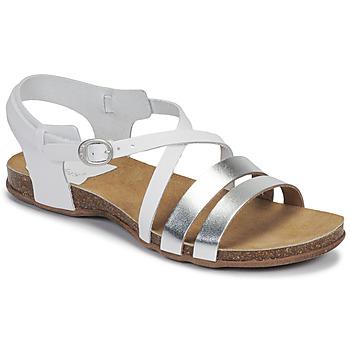 kengät Naiset Sandaalit ja avokkaat Kickers ANATOMIUM Valkoinen / Hopea