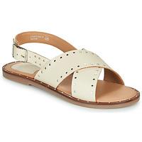 kengät Naiset Sandaalit ja avokkaat Kickers KICLA Beige