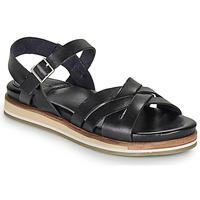 kengät Naiset Sandaalit ja avokkaat Kickers OLIMPIK Black