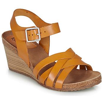 kengät Naiset Sandaalit ja avokkaat Kickers SOLYNA Kamelinruskea