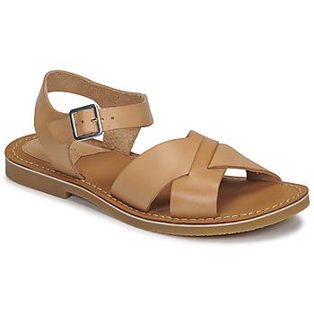 kengät Naiset Sandaalit ja avokkaat Kickers TILLY Beige